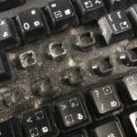 キーボードの掃除を簡単に安く行う方法