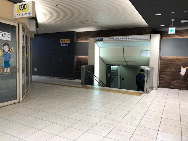 半蔵門線錦糸町駅2番出口
